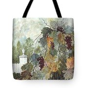 Grapevine Topiary Tote Bag by Ben Kiger