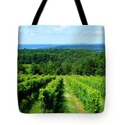 Grapevines On Old Mission Peninsula - Traverse City Michigan Tote Bag