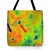 Graphene, Interference Patterns, Stm Tote Bag
