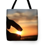 Grasping The Moment Tote Bag