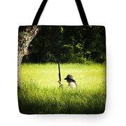 Grass Coverage Tote Bag