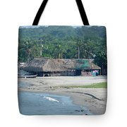 Grass Huts Colombia Tote Bag