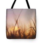 Grass In A Windy Field Tote Bag