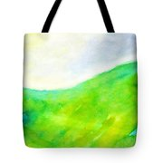 Grass In The Nature Tote Bag