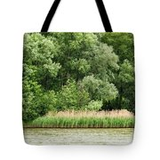 Grasses And Trees Tote Bag