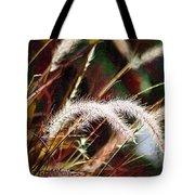 Grasses Tote Bag