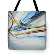 Grasses In The Snow Tote Bag