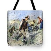 Grasshopper Plague, 1888 Tote Bag