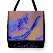 Grasshopper Poster Tote Bag