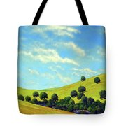 Grassy Hills At Meadow Creek Tote Bag