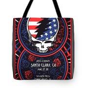 Grateful Dead Santa Clara Ca Tote Bag
