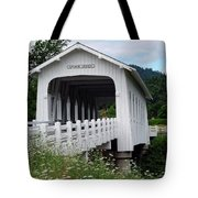 Grave Creek Bridge Tote Bag