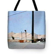 Gravel Piles Downtown La Tote Bag