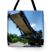 Gravel Pit Warrior Power Screen 01 Tote Bag