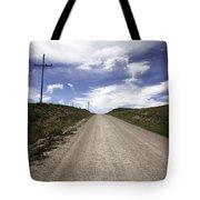 Gravel Road Tote Bag