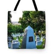 Graves At Sunrise Arlington Cemetery Tote Bag