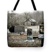 Graveyard Barn Tote Bag