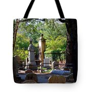 Graveyard In Charleston Tote Bag