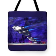Gravitational Forces Tote Bag by Corey Ford
