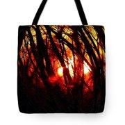 Gravity Inversion At Sunset Tote Bag