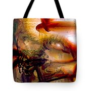 Gravity Of Love Tote Bag by Linda Sannuti