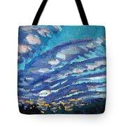 Gravity Storm Tote Bag