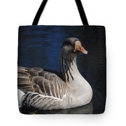 Gray Duck Tote Bag