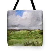 Gray Dunes Tote Bag