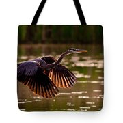 Gray Heron Tote Bag