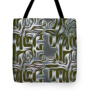 Gray Pattern,abstraction Tote Bag