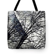 Gray Repetitions Tote Bag
