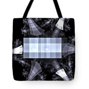 Gray Towers Tote Bag