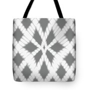 Gray Twisted Braids Tote Bag