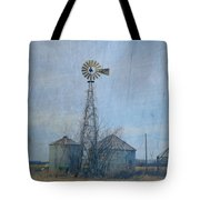 Gray Windmill 2 Tote Bag