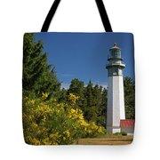 Grays Harbor Lighthouse H Tote Bag