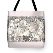 Grayscale Bevy Of Beauties With Sepia Tones Tote Bag
