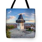 Graz Sunset Panorama Tote Bag