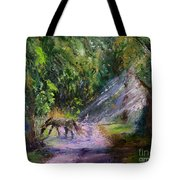 Grazin' In The Grass Tote Bag