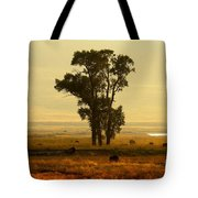 Grazing Around The Tree Tote Bag