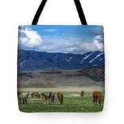 Grazing Herd Tote Bag