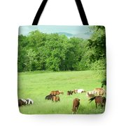 Grazing In The Morning Tote Bag