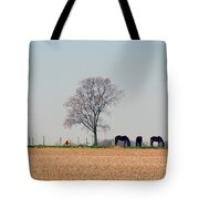 Grazing Quietly Tote Bag