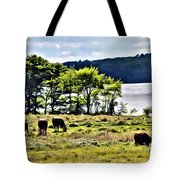 Grazing With A View Tote Bag