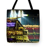Great American Ballpark Tote Bag by Keith Allen