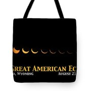 Great American Eclipse 2 Tote Bag