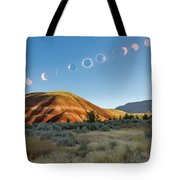Great American Eclipse Composite 2 Tote Bag