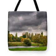 Great Barford River View Tote Bag