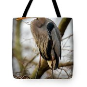 Great Blue Heron 1 Tote Bag