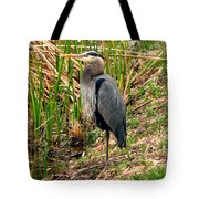 Great Blue Heron 2 Tote Bag