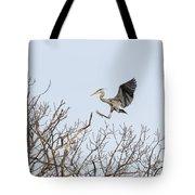 Great Blue Heron 2014-4 Tote Bag